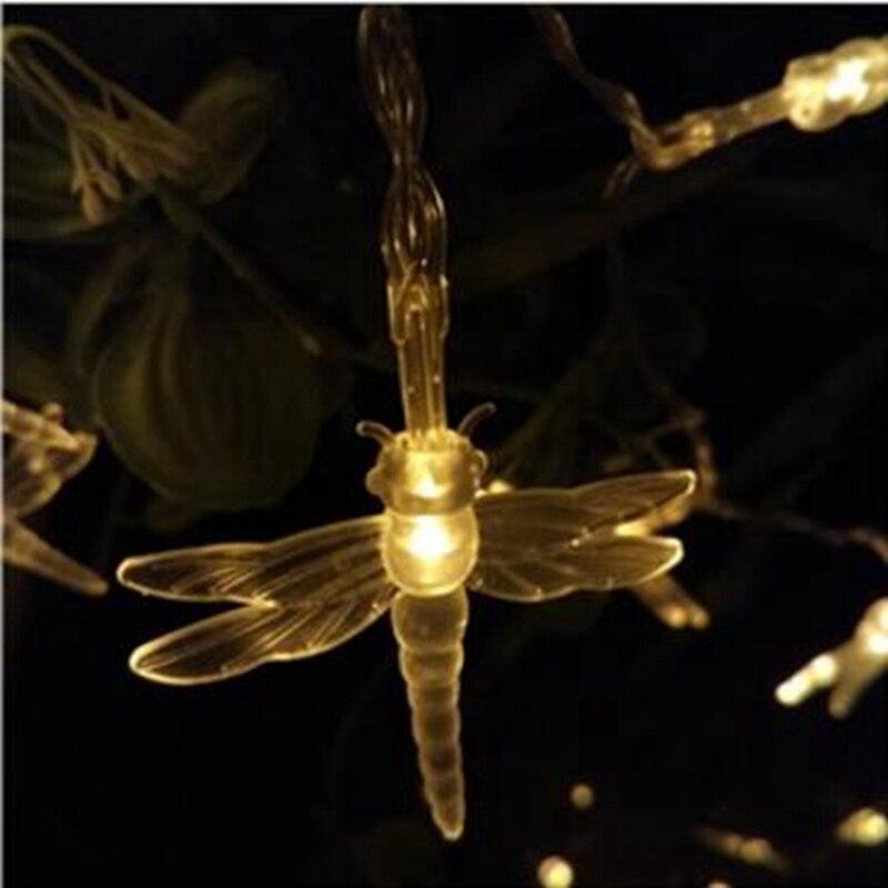 DHL 100m 600leds LED Licht String Wasserdichte LED Lichter Hochzeit Weihnachten Neue Jahr Garten Startseite Außen Dekoration - 5