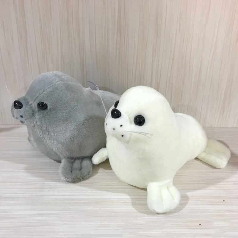 1pc Cute 25cm Soft Sea Lion Plush Toys Sea World Animal Seal Plush Stuffed Doll Baby Sleeping Pillow Kids Girls Gifts