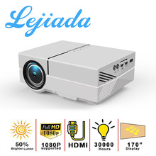 LEJIADA YG450 LED Projector 170 Inches Full HD 1080P Suported With HDMI USB AV For Home Theater Movie Media Player