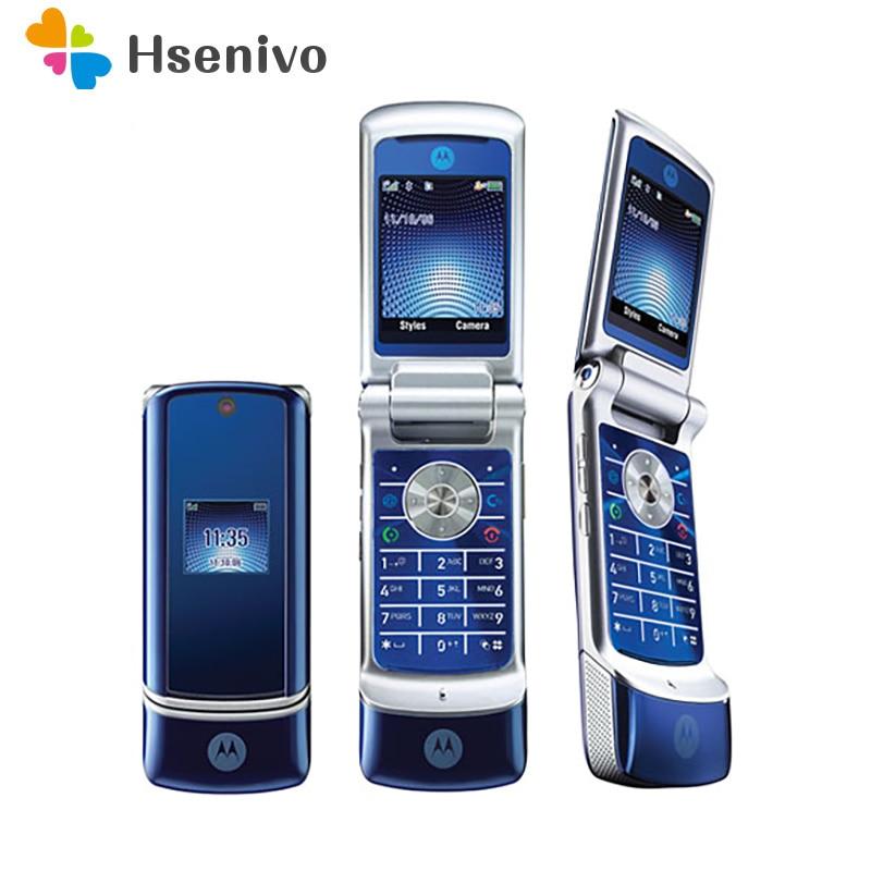 Unlocked Original Motorola Krzr K1 Flip GSM Bluetooth MP3 FM Radio  Cellphone Free Shipping