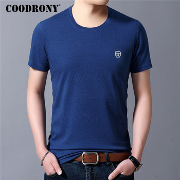 COODRONY Cotton T Shirt Men Spring Summer New Arrival Short Sleeve Tee Homme Fashion Casual O-Neck T-Shirt Tops C5070S