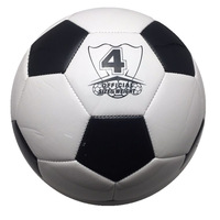 Hot Sale professional soccer ball standard Size 5 PU leather genuine seamless training football for children and adults