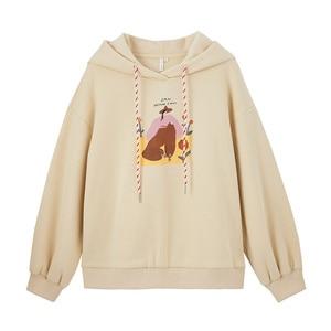 Image 5 - INMAN Autumn Winter Hoodies Women Pullover Cotton Printed Sweatshirts and Hoodies