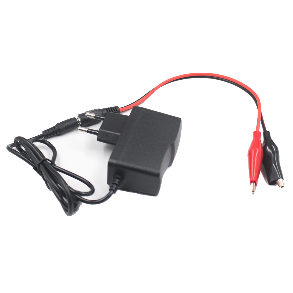 10.8V1A 1A Li-ion Battery Charger For Power Tool Battery 10.8V Max whit crocodile battery clip