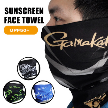 DAIWA Uv Protection Face Neck Gamakatsu Magic Scarf Fishing Sunscreen Breathable Anti Mosquito
