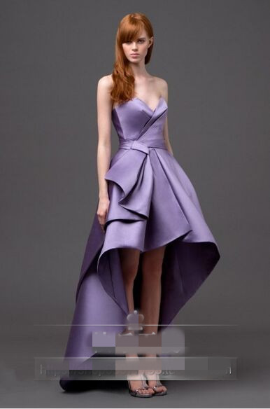New Hot Sweetheart Party Robe De Soiree Courte 2018 Saree Vestidos De Formatura Short Asymmetry Pleat Bridesmaid Dresses