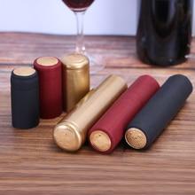 Heat-Shrink-Capsules Wine-Bottle Red-Wine Plastic 50pcs Professional