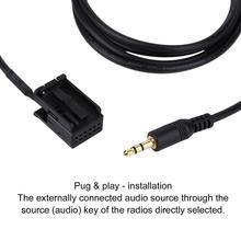 3,5 мм аудио AUX в кабельной линии адаптер для OPEL CD30 MP3 1,5 м длина Мопс& play-установочный светильник вес