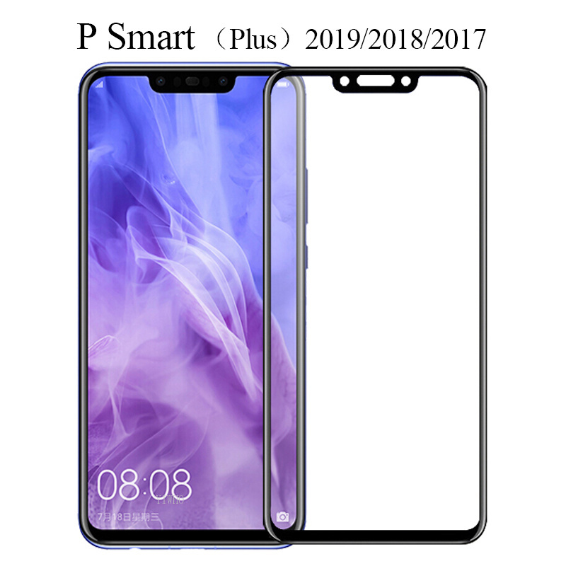 Protective Glass For Huawei P Smart Plus 2019 Screen Protector Tempered Glas On The For Huawei PSmart Huawey Hawei PSmart Film