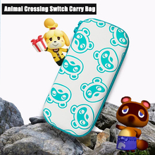 Nintend Switch/Lite Animal Crossing Travel Carrying Bag NS Accessories Nook Portable Storage Game Card Case For Nitendo Switch