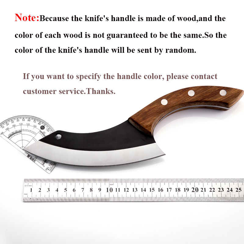 Image 3 - Handmade Chef Knife Clad Forged Steel Boning Slicing Butcher Kitchen Knives Meat Cleaver Kitchen ToolsKitchen Knives   -