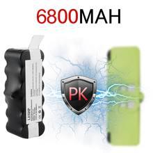 144 v 6800mah Емкость аккумулятора ni mh батарея для irobot
