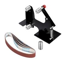 DIY M10/M14 elektryczna szlifierka kątowa pasek szlifierski Adapter akcesoria dla 100/115 125 szlifowanie szlifierka polerska z drewna