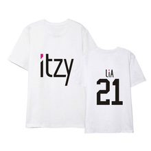 ITZY Loose T-shirt (18 Models)