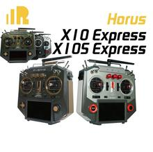 Transmisor exprés FrSky Horus X10 X10S, que cuenta con 24 canales con un índice de Baud más rápido y menor latencia para Dron de carreras con visión en primera persona