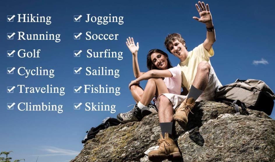 Cheap outdoor hiking socks