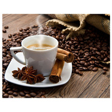 New Handicrafts Coffee 5D Diy Diamond Painting Cross Stitch Embroidery Mosaic European Home Decor