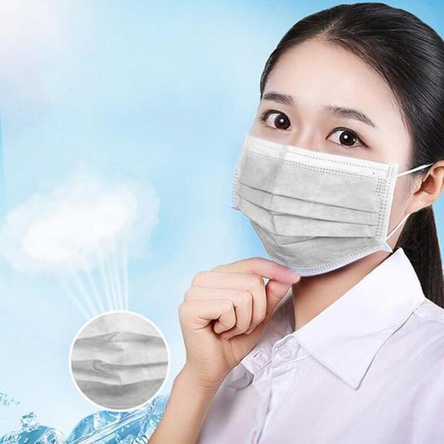 Disposable 3-layer non-woven mask Protection COVID-19