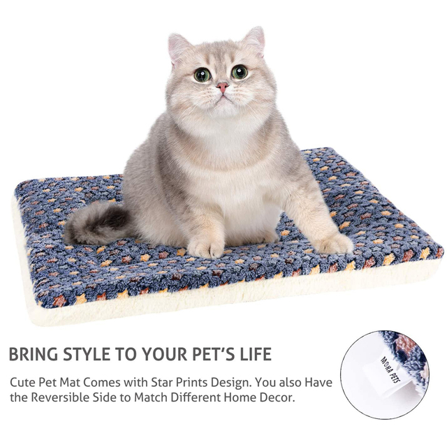 High Quality Washable Fleece/Cotton Super Cozy Pet Lounger 4