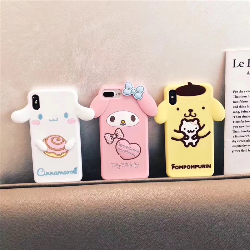 Cute 3D Japan Cinnamoroll Cartoon Phone Case For Redmi Note 7 K20 Pro Soft Silicone Back Cover Cases For Xiaomi 5X CC9 Pro image