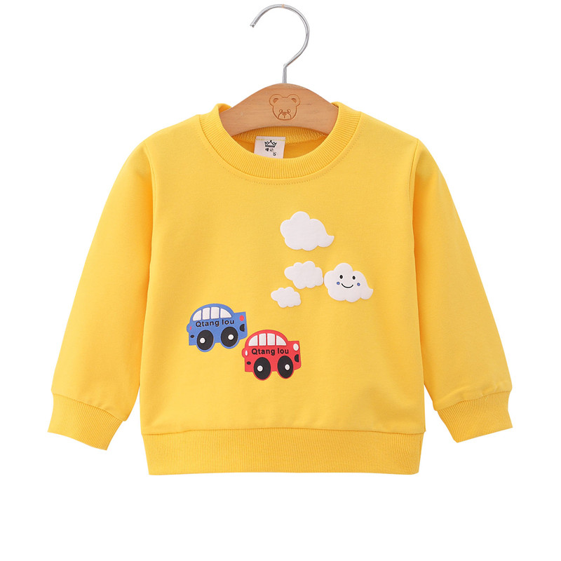 Toddler Sweatshirt Tops Baby-Boys Pullover Girl Children Autumn Spring Outfit title=