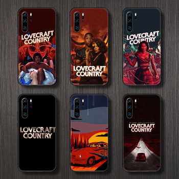 horror movie lovecraft country Phone Case Cover Hull For Huawei P8 P9 P10 P20 P30 P40 Lite Pro Plus smart Z 2019 black funda image