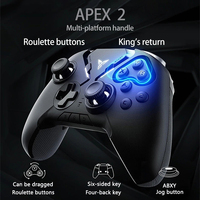 FLYDIGI APEX 2 bluetooth Gamepad 2.4G DNF Six axis Somatosensory Game Controller for iOS Android Mobile Phone Accessories