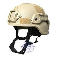 방탄 헬멧 군사 경찰 MICH2000 전술 전투 탄도 헬멧