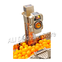 Table Tennis Machine Ping Pong Robot Auto Collection Ball Collection Network Full Function Serving Machine Tennis Ball Machine