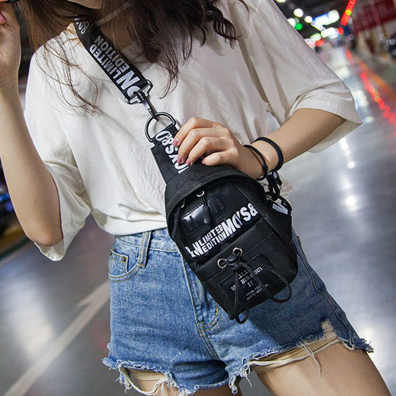 Mens Women Waist Bag Fasion Chest Bags Pack Hip Camping Money Pouch Belt Sport Shoulder Bag Bolsos Mujer /BY
