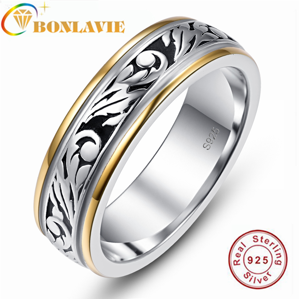 V-MONI S925 Silver Octagon Flower Inlay Ring Jewelry Wholesaler