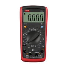 цена на UNI-T UT39E Modern Digital Multimeter 4 1/2 LCD Digital Manual Range Multimeter AC DC Capacitance Tester