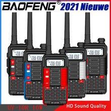 Baofeng UV-10R walkie talkie 10w 5800mah vhf uhf banda dupla em dois sentidos cb presunto rádio uv10r portátil usb carregamento rádio transceptor