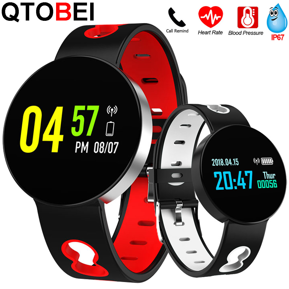 2020 Smart Watch Men Women Blood Pressure Round Watches Smartwatch Heart Rate Fitness Tracker message reminder For Android Ios