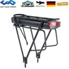 Ebike Battery Rear-Rack Electric 36V 250W 13ah 500W with 20-28-2-Layer-Luggage for 350W