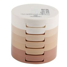 Makeup 5 Layer Fabulous Droog Nat Sprayed Face Make -Up Powder Contour Palette Skin Finishing Natural Concealer