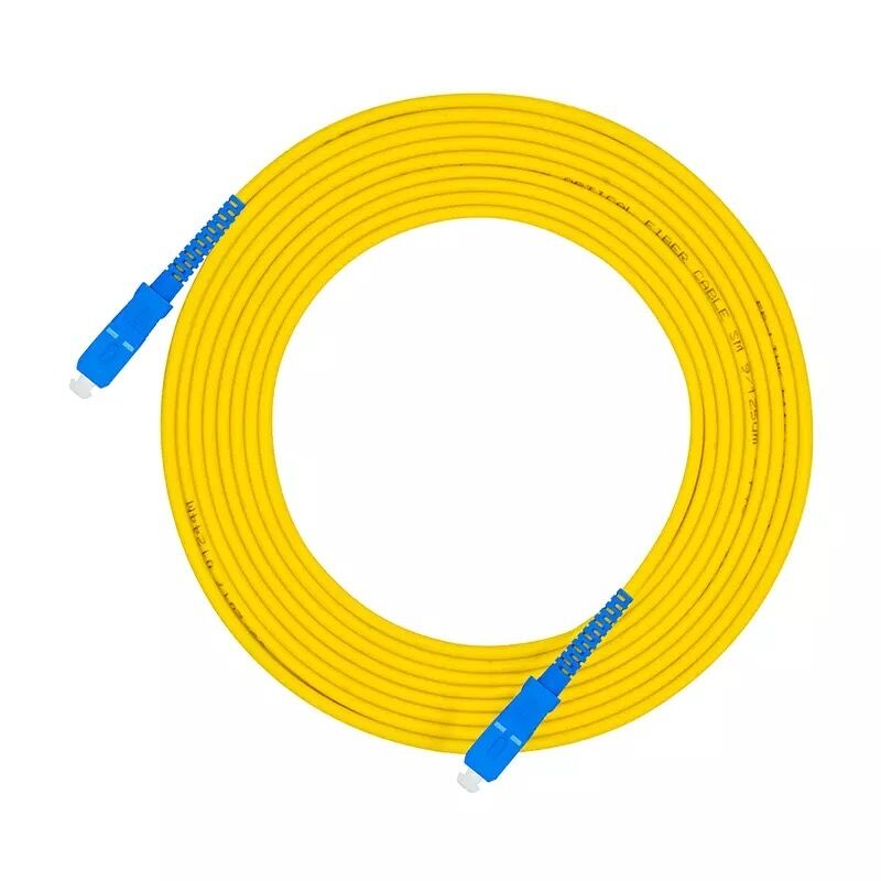 10 Pcs SC UPC To SC UPC Simplex 3.0mm PVC Single Mode Fiber Patch Cable Jumper Fiber Patch Cord