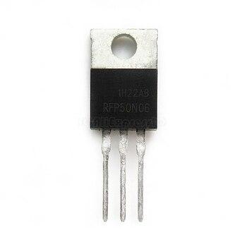 10pcs/lot RFP50N06 FP50N06 50N06 TO-220 60V 50A new original In Stock - discount item  8% OFF Active Components