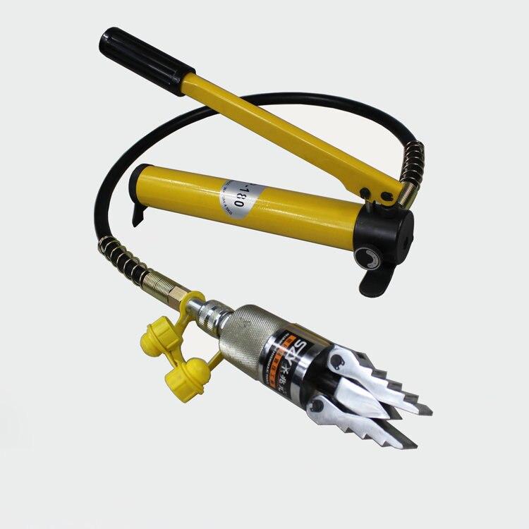 Aletler'ten Hidrolik Aletler'de YQ 30 8 ton 30MM taşınabilir split tip hidrolik serpme makinesi  boru flanş ayırıcı  yangın kurtarıcı  bağımsız hidrolik pompa title=
