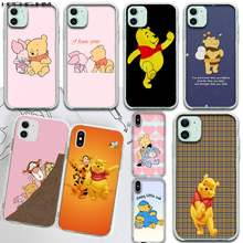 HPCHCJHM Winnie the Pooh Custom Photo Soft Phone Case for iPhone 11 pro XS MAX 8 7 6 6S Plus X 5S SE 2020 XR cover(China)