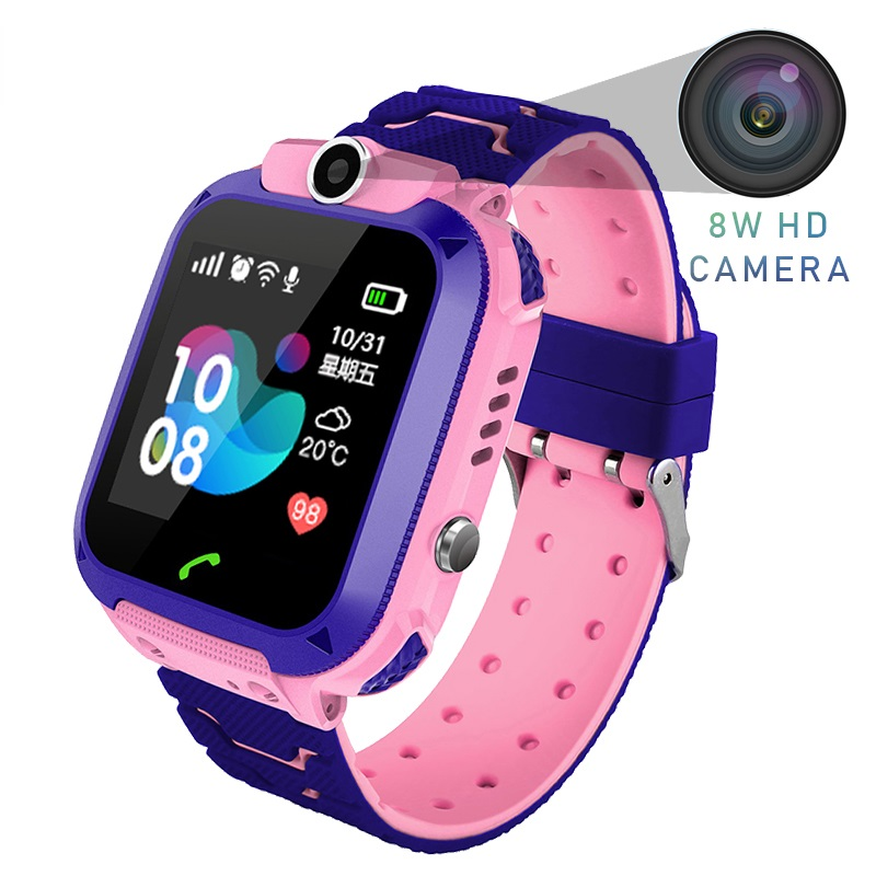 SOS Call Location Finder Display 2G SIM LBS Base Station Position for Kids Smart Watch Waterproof Smart Watch Baby Watch|Smart Watches| |  - title=