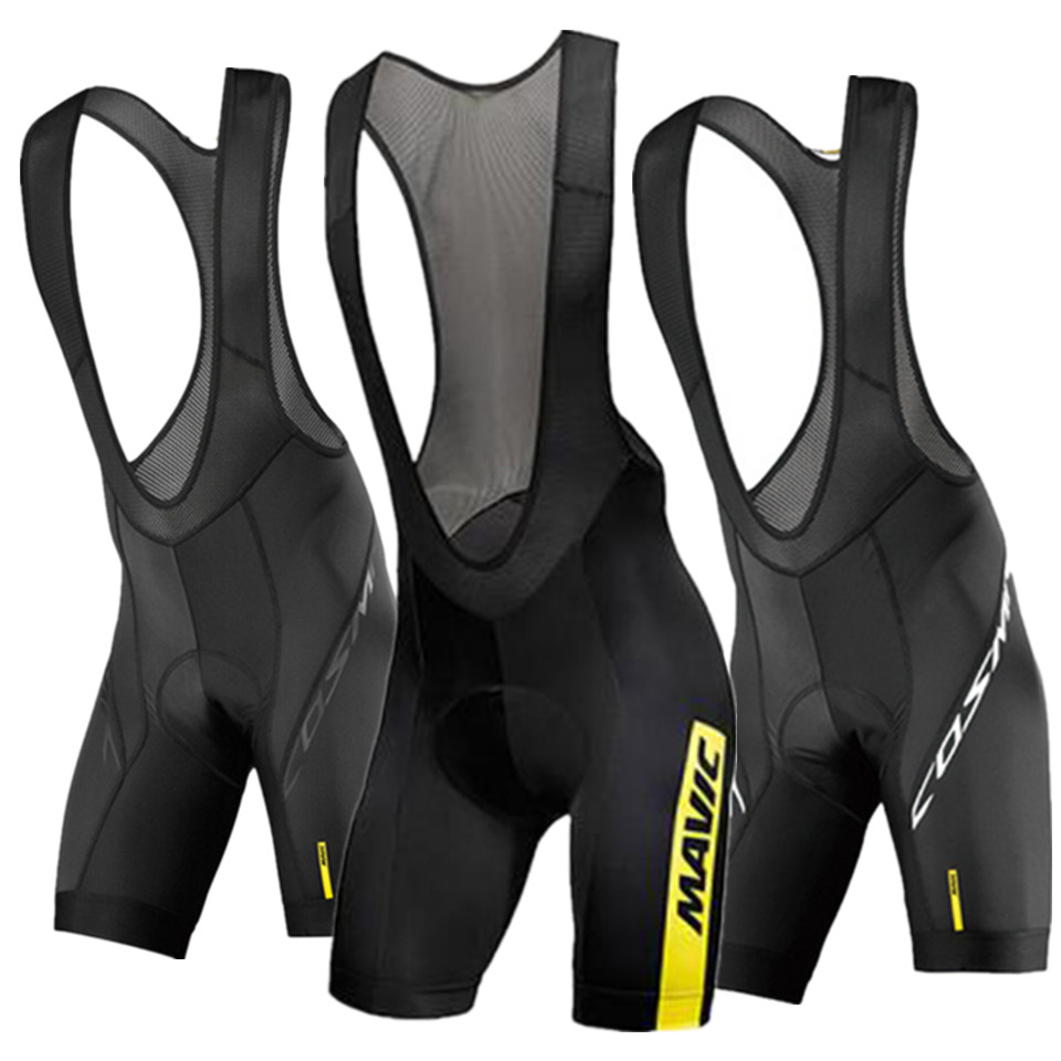 2020 <font><b>Mavic</b></font> Cycling 9D GEL Pad <font><b>Bib</b></font> <font><b>Shorts</b></font> MTB Quick Dry Breathable Padded Sport Bike Wear Bicycle Lycra image