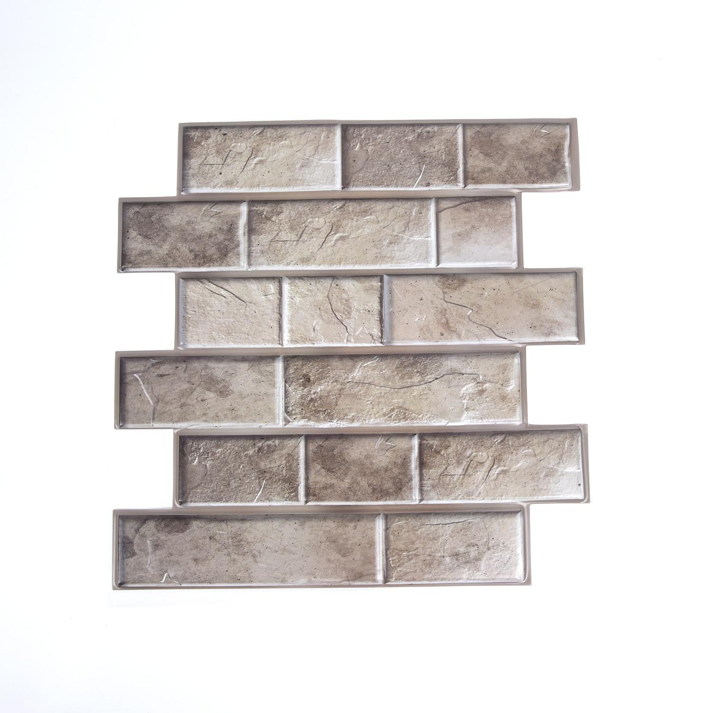 3D Tile Brick Stone Wall Sticker Self Adhesive Waterproof Foam Panel Stickers