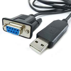 Image 5 - Adaptateur USB rs232 pl2303ra avec câble de Modem nul de retournement croisé db9f prolifique NMC pour STB Smart TV hôtel IPTV