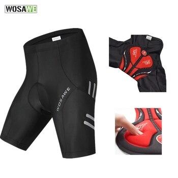 Pantalones cortos de Ciclismo acolchados con GEL 5D para hombre, Ropa interior...