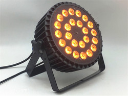 LED Par 24x18W RGBWA UV verlichting 6in1 led beroep Stage licht RGBW 4in1 verlichting podium wash licht