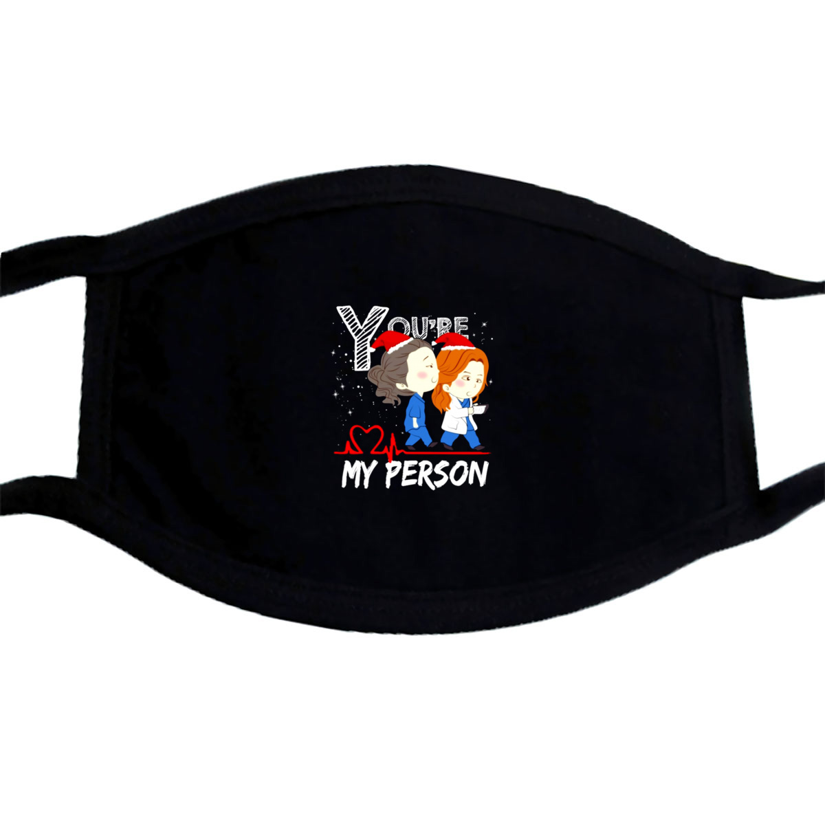 GreyS Anatomy Nurse YouRe My Person Christmas Mask