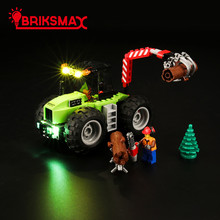 BriksMax Light Kit For City Series Forest Tractor Building Blocks Lighting Set Compatible With 60181 (NOT Include The Model)