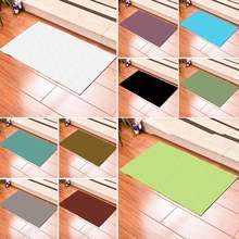 Однотонный минималистичный модный прямоугольный ковер для гостиной