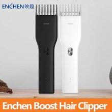 Enchen Boost USB חשמלי שיער קליפר גוזם שתי מהירות חותך שיער מהיר טעינה שיער גוזם לילדים למבוגרים